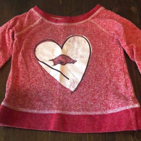 Other - Razorbacks sweatshirt/shirt